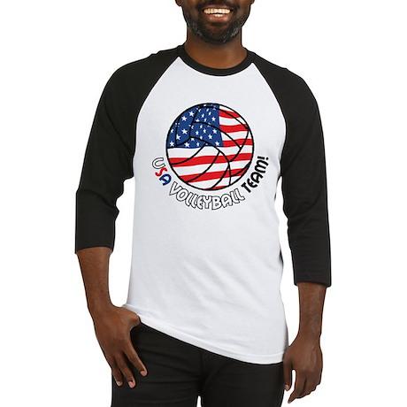 USA Volleyball Team Baseball Jersey
