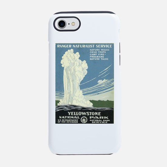 Yellowstone National Park iPhone 7 Tough Case
