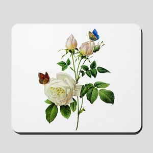 Pierre-Joseph Redoute Rose Mousepad
