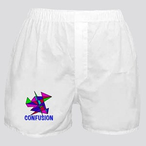 CONFUSION, abstract, gifts Boxer Shorts