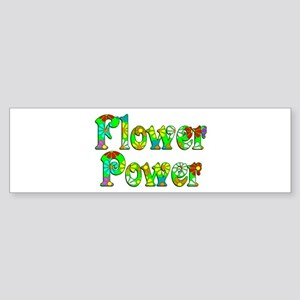 Flower Power Sticker (Bumper)