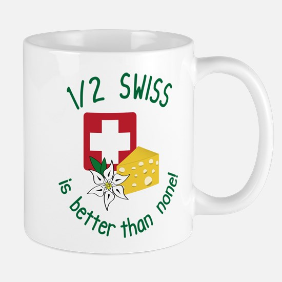 1/2 Swiss Mug