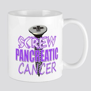 Screw Pancreatic Cancer Mug