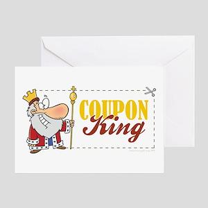 COUPON KING Greeting Card