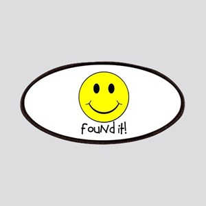 Found It Smiley! Patches
