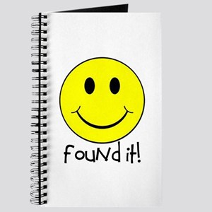 Found It Smiley! Journal
