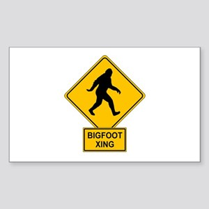 Bigfoot Sticker (Rectangle)