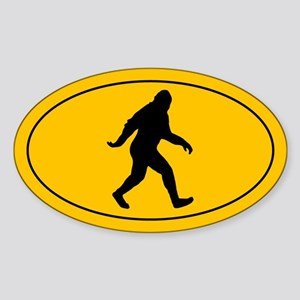 Bigfoot Sticker (Oval)