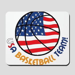 USA Basketball Team Mousepad