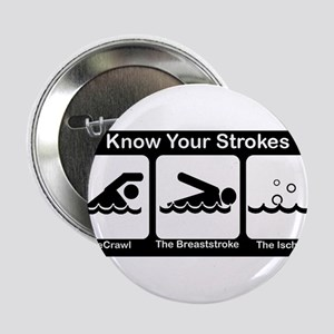 """Know Your Strokes 2.25"""" Button"""