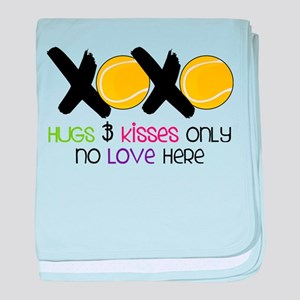 No Love Here baby blanket