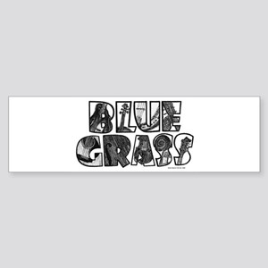 Bluegrass Sticker (Bumper)