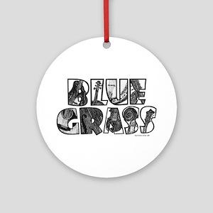 Bluegrass Ornament (Round)