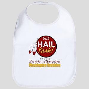 Washington Redskin Hail Redskins Baby Bibs - CafePress c03431791