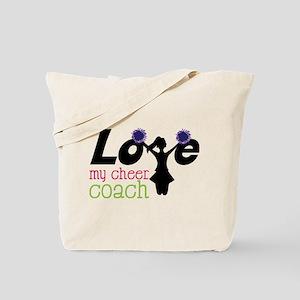 My Cheer Coach Tote Bag