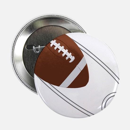 "Football Diaper Pin 2.25"" Button"
