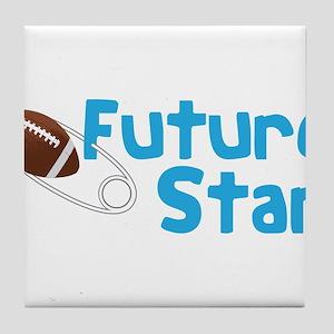 Future Star Tile Coaster