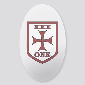 SEAL Team 3 - 1 Sticker (Oval)