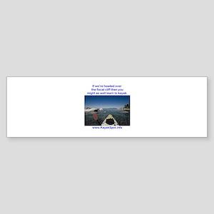 Fiscal Cliff Sticker (Bumper)