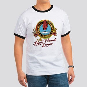 Donnelly Brewing Company Red Hand Lager Ringer T