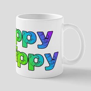 Yippy Skippy (rainbow swirl) Mug