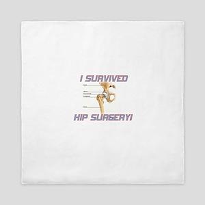 Hip Surgery Queen Duvet
