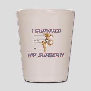 Hip Surgery Shot Glass