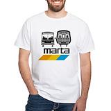 Marta Mens Classic White T-Shirts