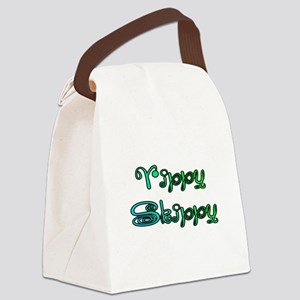 Yippy Skippy (curly) Canvas Lunch Bag