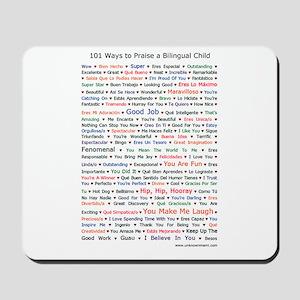 101 Ways to Praise a Bilingual Child Mousepad