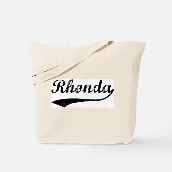Vintage: Rhonda Tote Bag