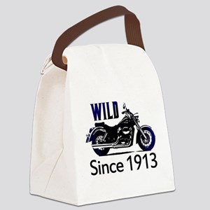 100th Birthday Canvas Lunch Bag