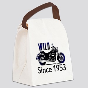 60th Birthday Canvas Lunch Bag