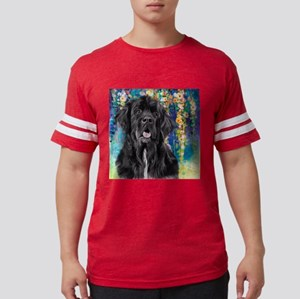 Newfoundland Painting Mens Football Shirt