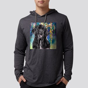 Newfoundland Painting Mens Hooded Shirt