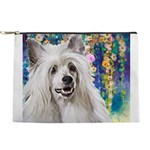 Chinese Crested Painting Makeup Pouch