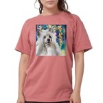 Chinese Crested Painting Womens Comfort Colors Shi