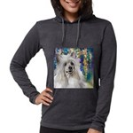 Chinese Crested Painting Womens Hooded Shirt