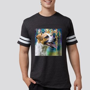 Jack Russell Terrier Painting Mens Football Shirt