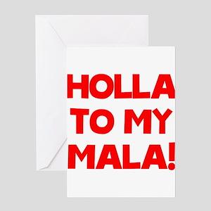Mala Greeting Card