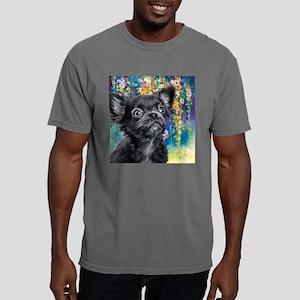 Chihuahua Painting Mens Comfort Colors Shirt