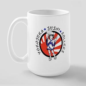 Sushi Rollers Large Mug