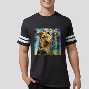 Airedale Painting Mens Football Shirt
