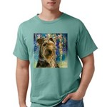 Airedale Painting Mens Comfort Colors Shirt