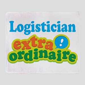 Logistician Extraordinaire Throw Blanket