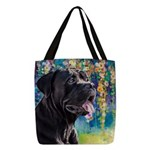Cane Corso Painting Polyester Tote Bag