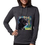 Cane Corso Painting Womens Hooded Shirt