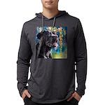 Cane Corso Painting Mens Hooded Shirt