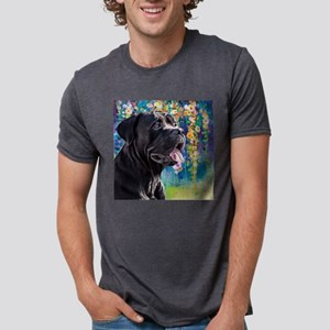 Cane Corso Painting Mens Tri-blend T-Shirt