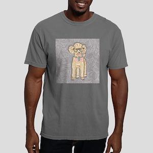 Hipster Poodle Mens Comfort Colors Shirt